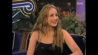 Eyes Wide Shut : Leelee Sobieski on The Tonight Show (1999)