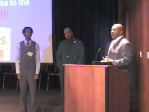 Trevor Martin Award Presentation of the Tyrone Bledsoe Scholarship .MOD