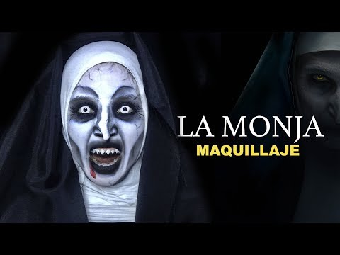 LA MONJA l THE NUN - MAKEUP - LINA MENESSES