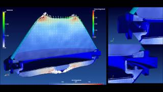MSC Nastran Explicit Nonlinear - Hydromount with multiple Chambers and small passages