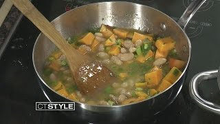 In The Bender Kitchen: Pumpkin Soup With Chef Silvio Suppa