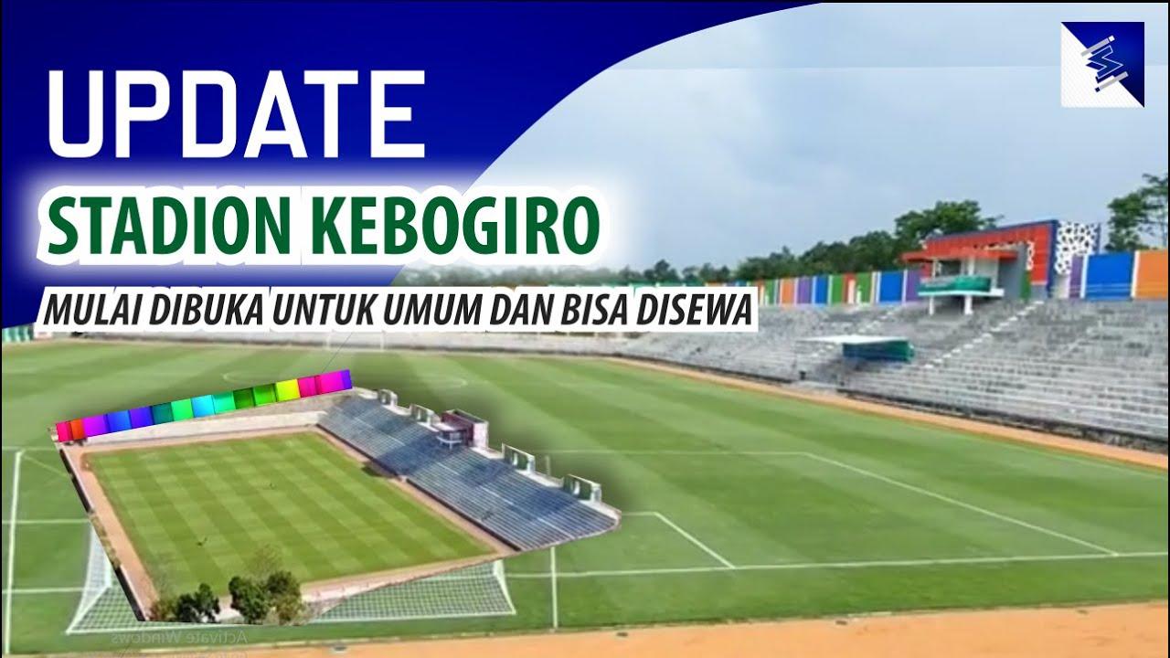 Walau Belum Rampung dan Diresmikan, Stadion Kebogiro Boyolali, Sdh Bisa Di Sewa dan Dibuka Utk Umum