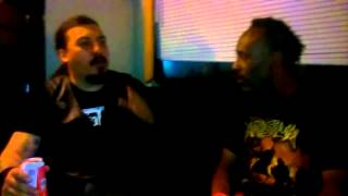 Live After Show Interview With Alex Carmago (bassist/vocalist) of Brazilian death metal squad Krisiu