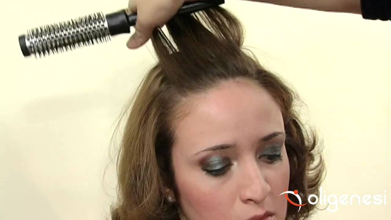 Piega per capelli medio lunghi