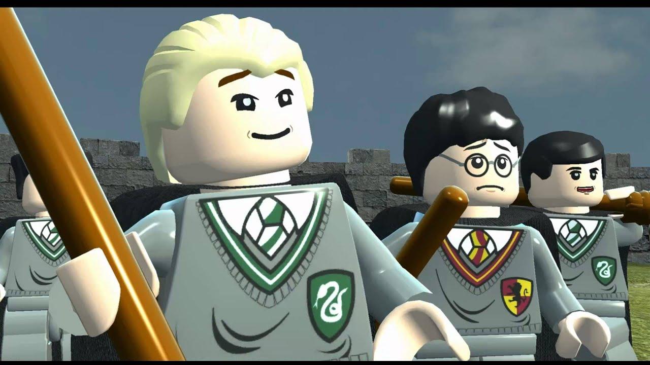lego harry potter years 1 4 all cutscenes