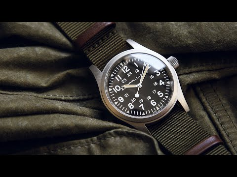 vendita calda online 8a2d5 ec42f ⌚Il miglior orologio Militare Svizzero - Hamilton Khaki ...