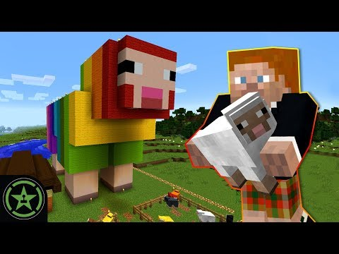 ROYGBaa the Rainbow Sheep - Minecraft (#320) | Let's Play