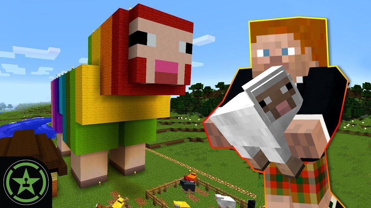 ROYGBaa the Rainbow Sheep - Minecraft (#320)   Let's Play