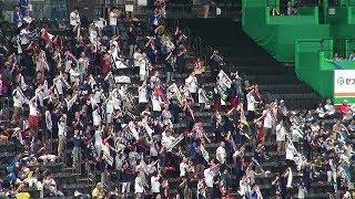 2018年9月15日、札幌ドームで行われた、北海道日本ハムファイターズvsオ...