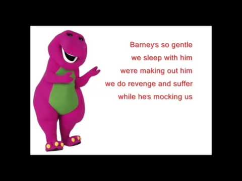 Barney Song Backwards