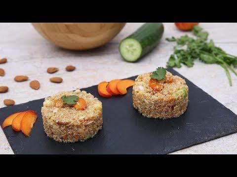 les-instants-recettes-n°64-:-salade-quinoa,-abricots,-concombre