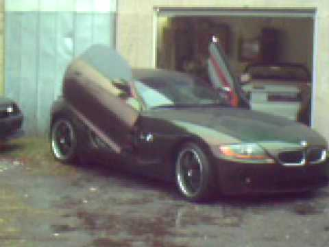 bmw z4 mazda rx7 lambo doors kameleon paint youtube. Black Bedroom Furniture Sets. Home Design Ideas