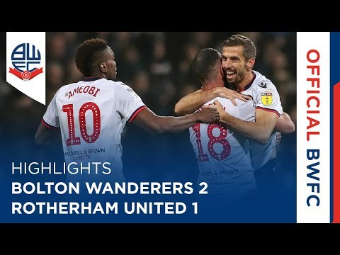 HIGHLIGHTS | Bolton Wanderers 2-1 Rotherham United