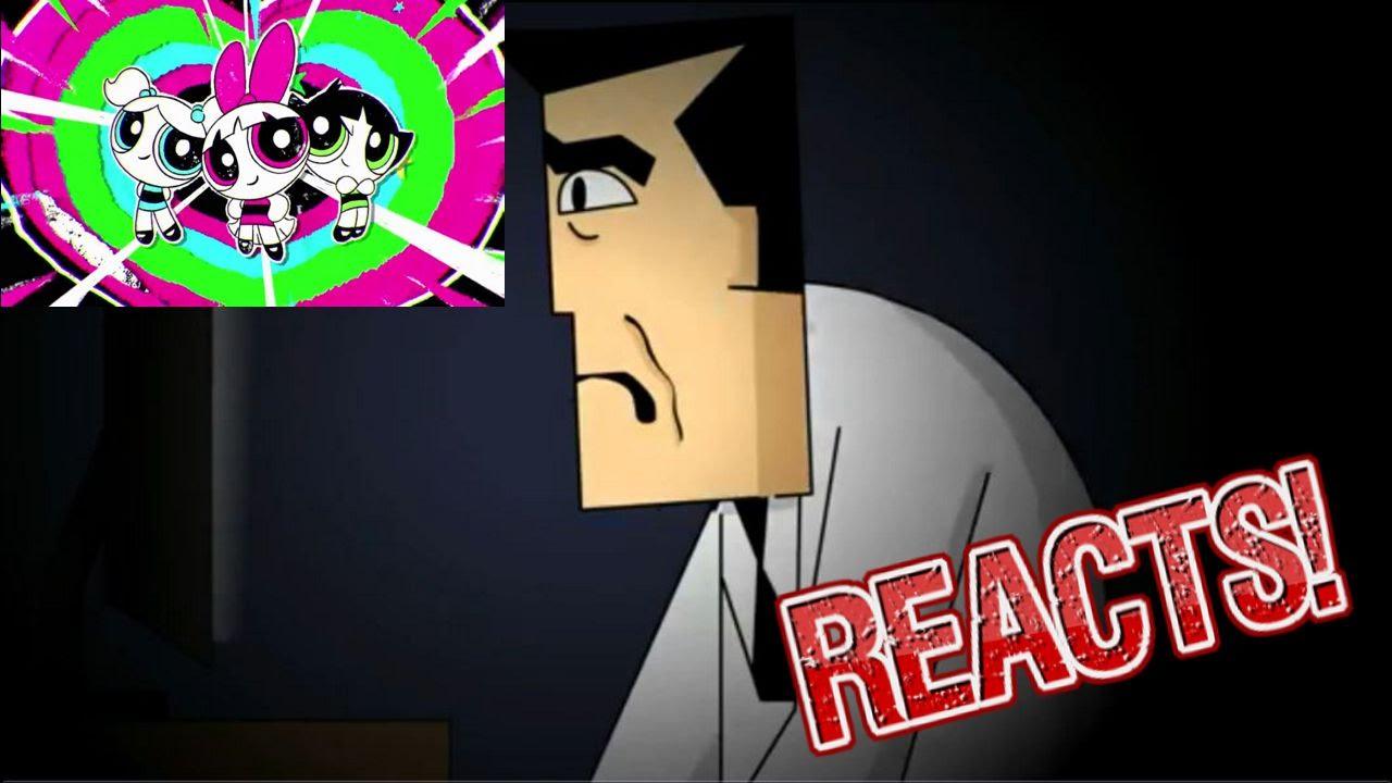 professor utonium reacts to the new powerpuff girls reboot youtube