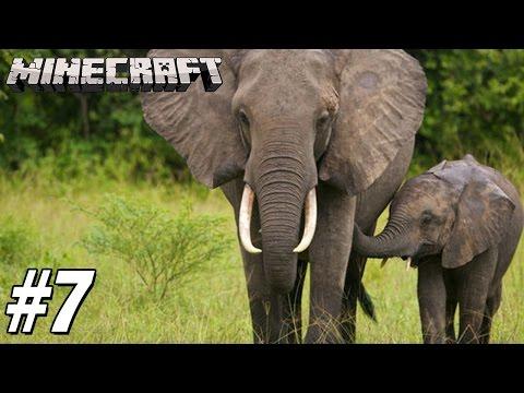 [ Minecraft : Build battle #7 ] - น้องเคยเห็นช้างรึเปล่า