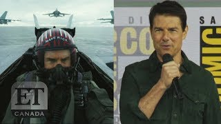 Tom Cruise Talks 'Top Gun: Maverick' At Comic-Con
