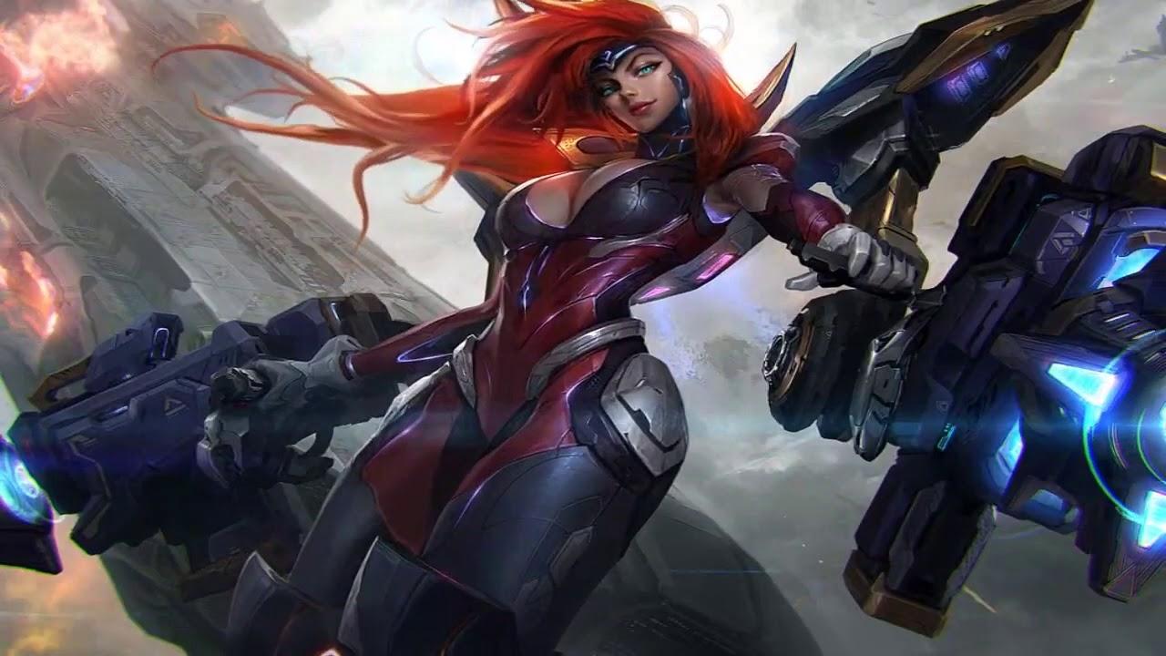 Gun Goddess Miss Fortune Splash Art   League of Legends