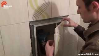 Люк невидимка, установка больших люков в санузлах. Ремонт и отделка ванной в Воронеже(, 2014-03-23T08:17:12.000Z)