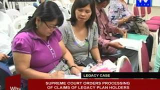 Supreme Court orders processing of claims of Legacy plan holders
