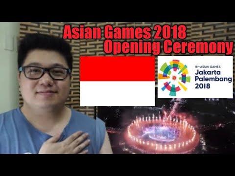 HIGHLIGHTS Opening Ceremony Asian Games 2018 Jakarta - Palembang Indonesia l  Filipino Reaction