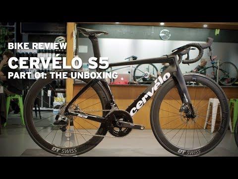 Bike review – 2019 Cervelo S5 part 01, unboxing