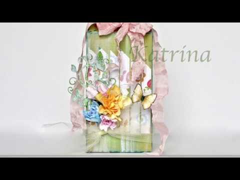 Polkadoodles Flowers In 3-D!