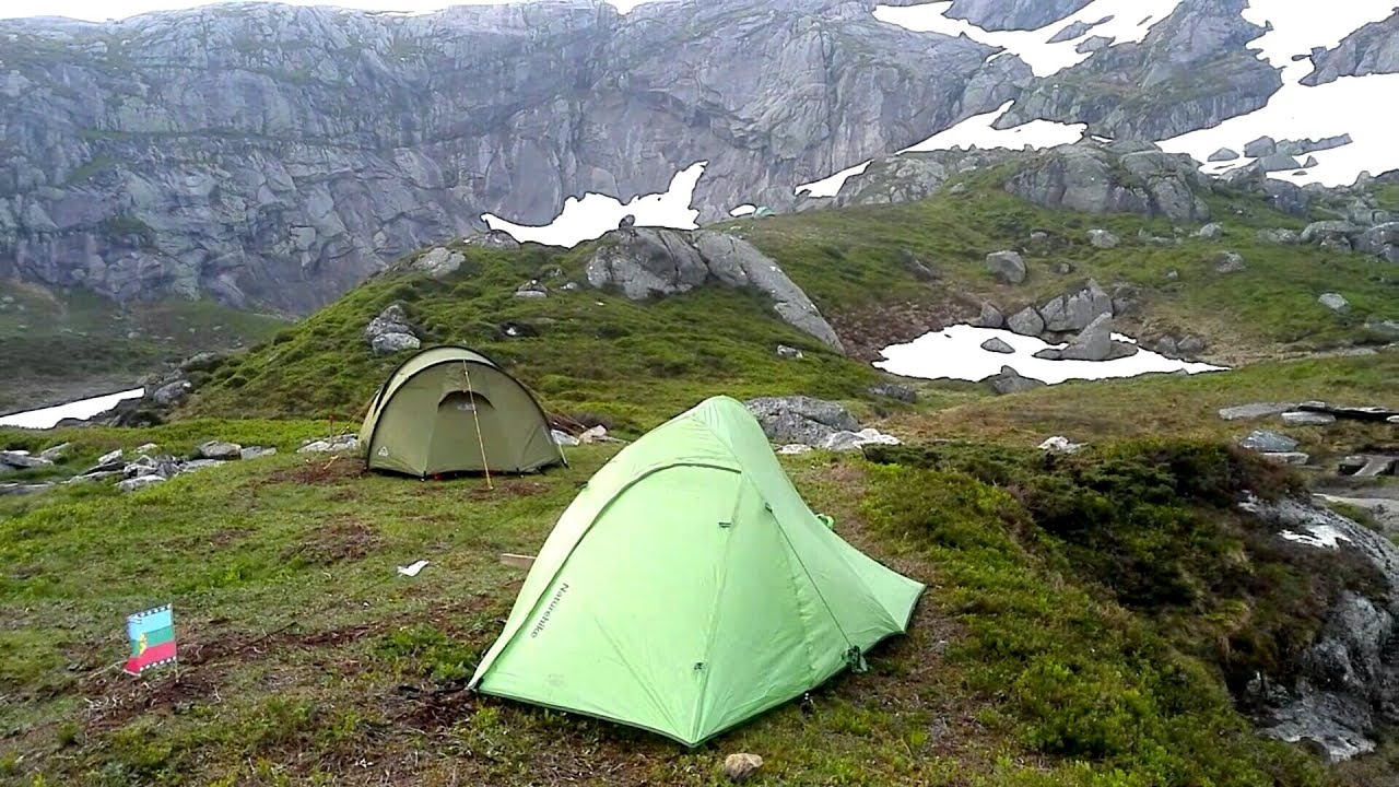 Naturehike Ultraight 2 Tent in Windy Conditions at the
