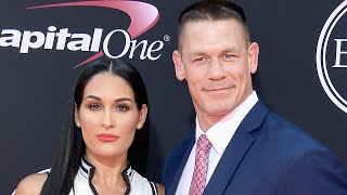Nikki Bella Flaunts Her Toned Abs and Kisses John Cena on ESPYs Red Carpet