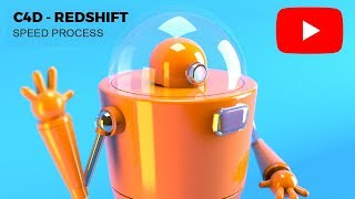 How to create a 3d Robot in Cinema4d - Redshift