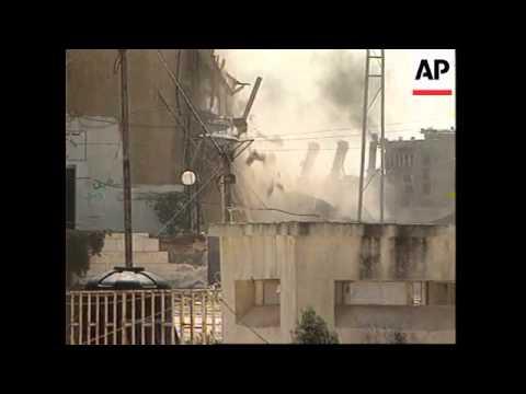 WRAP Hebron gun battle and arrests, Ramallah curfew