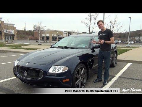 Review: 2008 Maserati Quattroporte Sport GTS - Exotic Bargain at 20k?