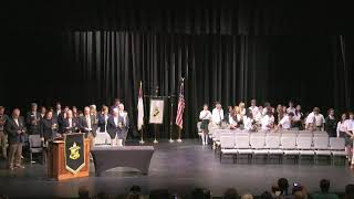 Rabun Gap-Nacoochee School Middle School Moving Up Ceremony