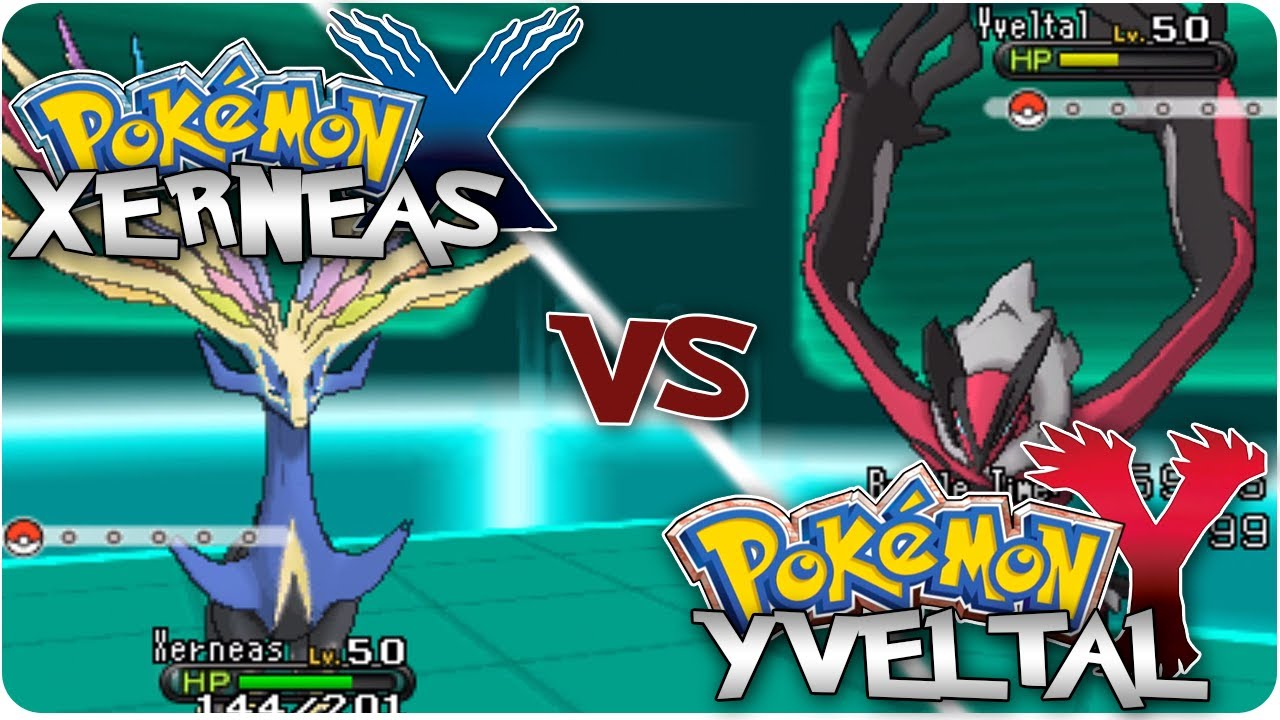 Pokemon X Amp Y Xerneas Vs Yveltal Legendary Battle Youtube