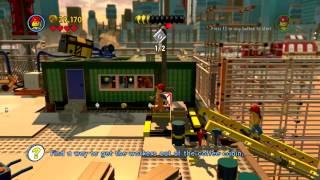 The Lego Movie Video Game (PC) walkthrough - Bricksburg Construction