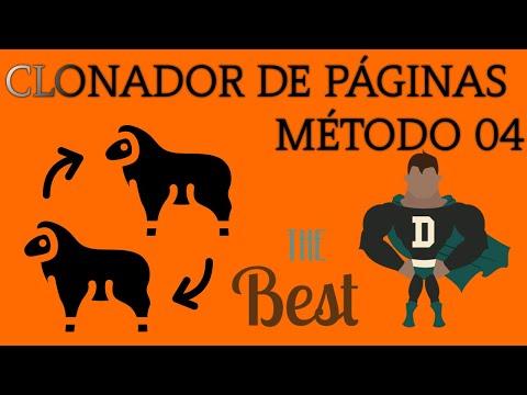 CLONADOR DE PÁGINAS HTML - MÉTODO 04