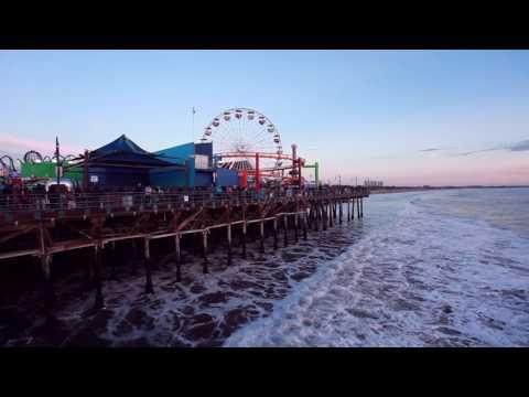Santa Monica Pier Christmas 2016