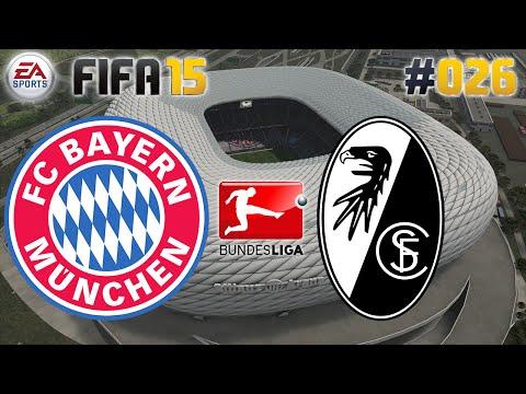 FIFA 15 #026 FC Bayern vs. SC Freiburg ★ Bundesliga ★ Let's Play FIFA 15 Multiplayer [Deutsch]