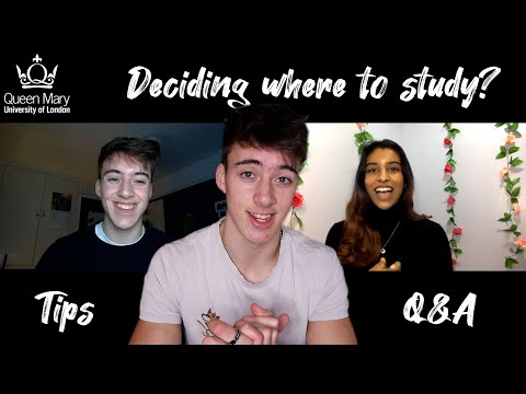 Deciding on a university when you can't visit & Queen Mary University of London Q&A ft.@Elvia Kiara