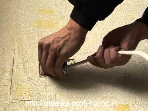 Замена старой проводки своими руками
