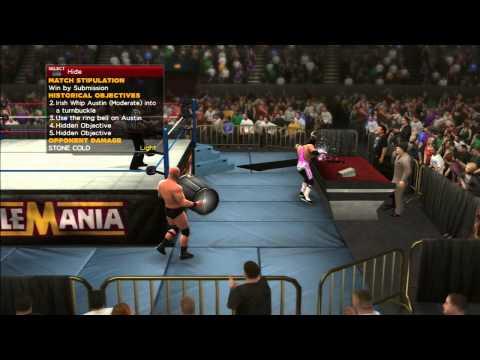 WWE 2K14: BRET HART VS STEVE AUSTIN - 30...