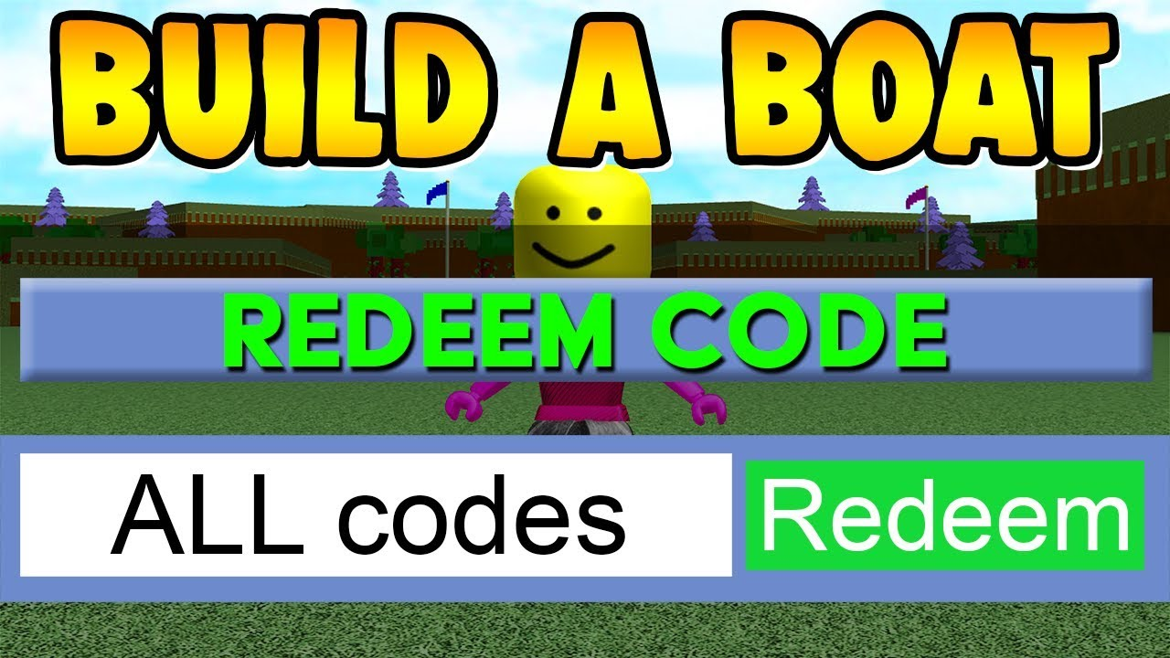 ALL AVAILABLE CODES in Build a Boat ( Free items! )