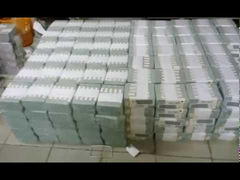 Video&Photo: EFCC discovers $38m, N23m and £27k hidden in an Ikoyi home
