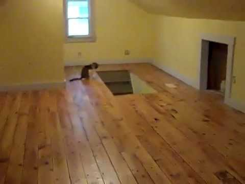 Attic Remodel 100 Year Old Floor Refinished Hurley Ny
