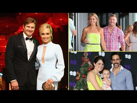 Top 20 Famous Australian Cricketers With Their Beautiful Wives || Australia Cricket Team