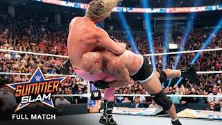 FULL MATCH - Goldberg vs. Dolph Ziggler: SummerSlam 2019