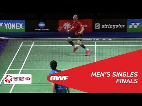 MS | CHOU Tien Chen (TPE) [4] vs NG Ka Long Angus (HKG) [6] | BWF 2018