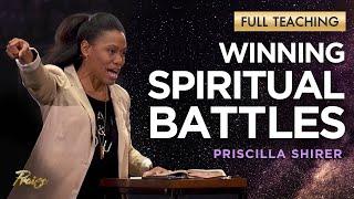Priscilla Shirer: YOUR Spiritual Battle \u0026 the Armor of God (Full Teaching)   Praise on TBN