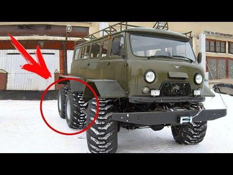 Монстр на трёх осях! Редкий УАЗ-452К который мало кто видел!