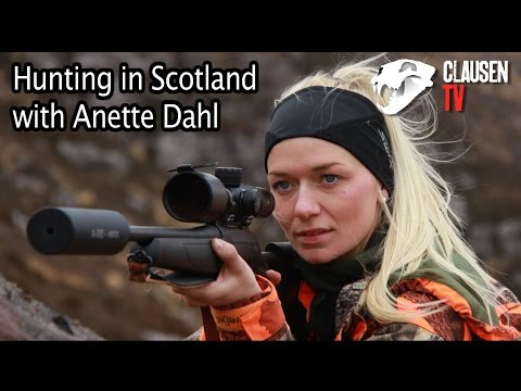 Hunting in Scotland with Anette Dahl. Full video at Clausen TV.