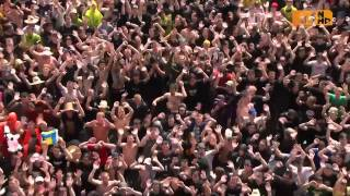 Pendulum Live @ Rock am Ring 2010 - Voodoo People 720p HD